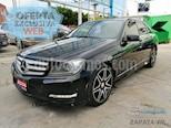 Foto venta Auto usado Mercedes Benz Clase C 200 CGI Sport Aut (2014) color Negro Magnetita precio $240,000