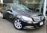 Foto venta Auto usado Mercedes Benz Clase C 4p C 180 L4/1.6/T Aut (2013) color Negro precio $218,000