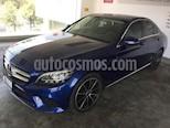Foto venta Auto usado Mercedes Benz Clase C 4p C 200 Sport L4/1.5/T Aut (2019) color Azul precio $620,000