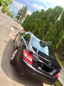 Mercedes Clase C 200 CGI Exclusive Aut usado (2011) color Negro precio $155,000