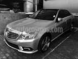 Foto venta Auto usado Mercedes Benz Clase E 500 Avantgarde Distronic Plus (2011) color Plata Iridio precio $370,000