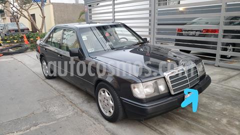 Mercedes Benz Clase E 300 9G-Tronic usado (1987) color Negro precio u$s3,700