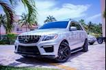 Foto venta Auto usado Mercedes Benz Clase M ML 63 AMG (2014) color Plata precio $750,000