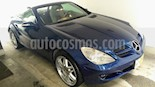 Foto venta Auto usado Mercedes Benz Clase SLK 350 (2008) color Azul precio $239,000