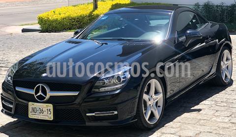 Mercedes Clase SLK 200 CGI usado (2016) color Negro precio $450,000