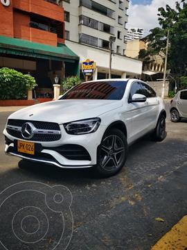 Mercedes GLC 300 4Matic Coupe AMG Line  usado (2021) color Blanco precio $225.000.000