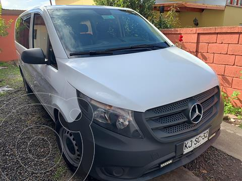 Mercedes Benz Vito 2.1L Tourer 114 10+1  usado (2018) color Blanco precio $18.000.000