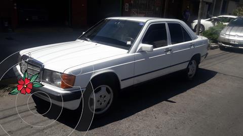 Mercedes 190 D 2.5 usado (1987) color Blanco precio $590.000