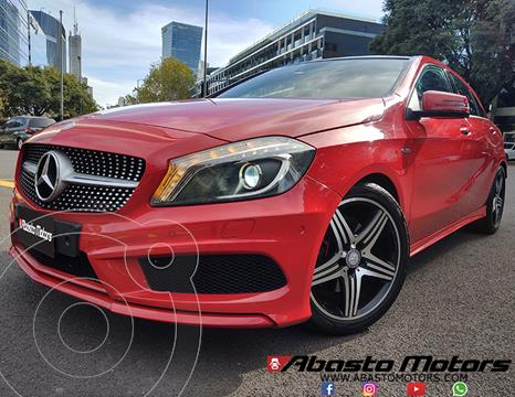 Mercedes Clase A 250 Sport Aut usado (2014) color Rojo Jupiter precio u$s29.900