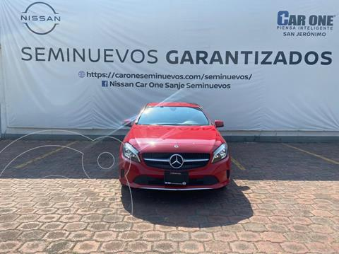 Mercedes Clase A 200 CGI Sport Aut usado (2018) color Rojo precio $354,900