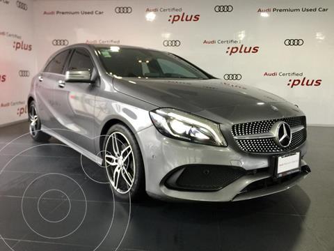 Mercedes Clase A 200 CGI Sport Aut usado (2017) color Gris precio $390,000