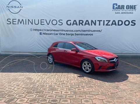 Mercedes Clase A 200 CGI Urban Aut usado (2018) color Rojo precio $362,900