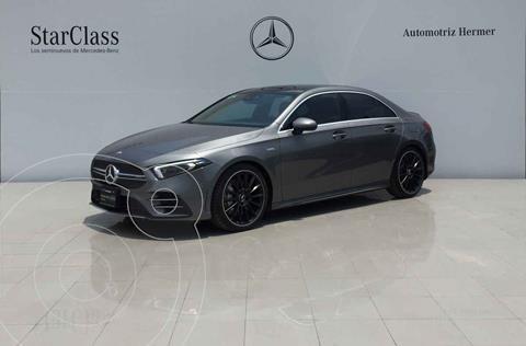 Mercedes Clase A 35 AMG 4MATIC Sedan usado (2020) color Gris precio $899,900