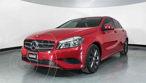 Mercedes Clase A 180 CGI Aut usado (2016) color Rojo precio $277,999