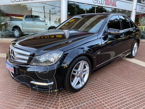 Mercedes Clase C C250 CGI Avantgarde Sport 1.8L Aut usado (2012) color Negro financiado en cuotas(anticipo $1.500.000)