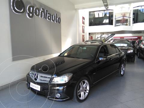 Mercedes Clase C 250 Blueefficiency Avantgarde At usado (2012) color Negro precio $2.250.000