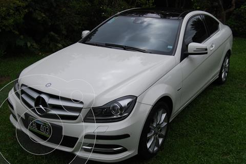 Mercedes Clase C C250 Coupe Blue Efficiency usado (2012) color Blanco precio u$s20.000