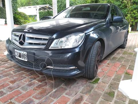 Mercedes Clase C C200 CGI Blue Efficiency 1.8L City usado (2013) color Negro precio u$s16.500