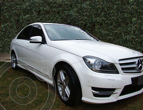 Mercedes Clase C C250 CGI Blue Efficiency 1.8L Aut usado (2013) color Blanco precio u$s19.900
