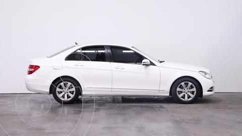 Mercedes Clase C C200 CGI Blue Efficiency 1.8L City usado (2013) color Blanco precio $2.850.000