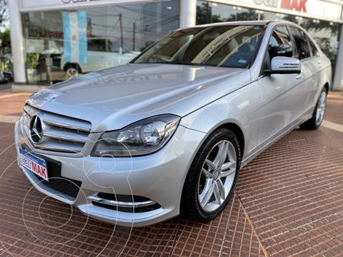 Mercedes Clase C C250 CGI Avantgarde 1.8L Aut usado (2013) color Gris financiado en cuotas(anticipo $2.100.000)