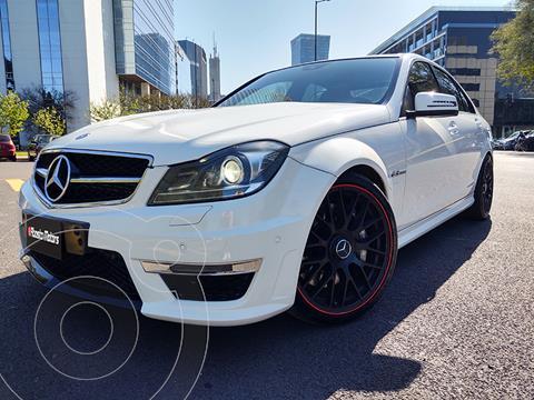 Mercedes Clase C 63 AMG  usado (2013) color Blanco precio u$s56.900