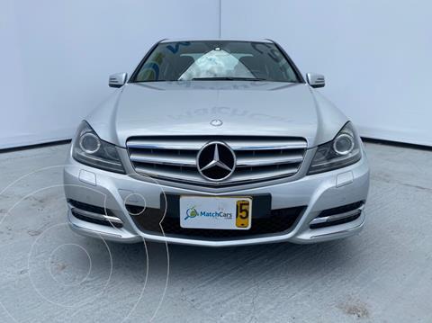 Mercedes Clase C 200 CGI Avantgarde usado (2012) color Plata Iridio precio $55.500.000