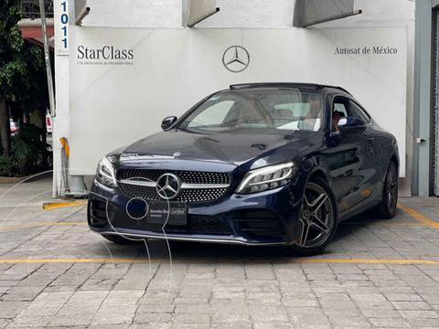 Mercedes Clase C 300 CGI Coupe Aut usado (2019) color Azul precio $780,000