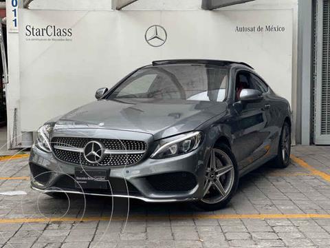 Mercedes Clase C 250 CGI Coupe Aut usado (2017) color Gris precio $560,000