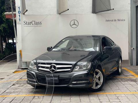 Mercedes Clase C 250 CGI Coupe Aut usado (2012) color Gris precio $205,000