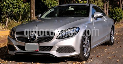 Mercedes Clase C 180 CGI Coupe Aut usado (2017) color Plata precio $379,000