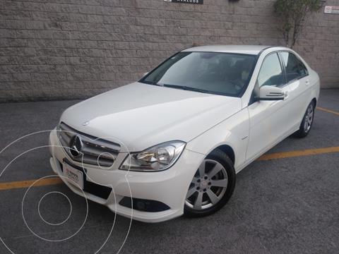 Mercedes Clase C 180 Aut usado (2012) color Blanco precio $172,000