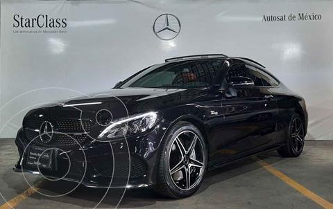 Mercedes Clase C C 43 AMG Coupe Aut usado (2018) color Negro precio $780,000