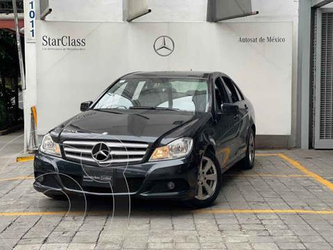 Mercedes Clase C 180 CGI Aut usado (2012) color Negro precio $185,000