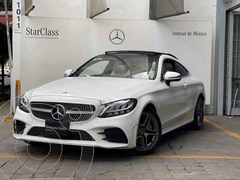 Mercedes Clase C 300 Coupe Aut usado (2019) color Blanco precio $730,000