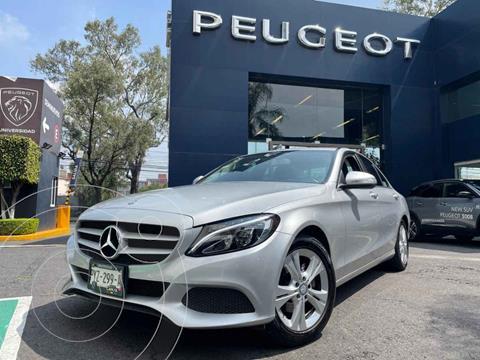 Mercedes Clase C 200 Exclusive Aut usado (2015) color Plata precio $329,900