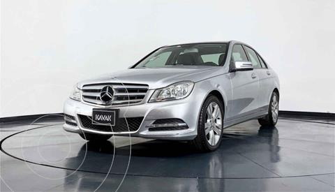 Mercedes Clase C 200 CGI Exclusive Aut usado (2013) color Plata precio $219,999