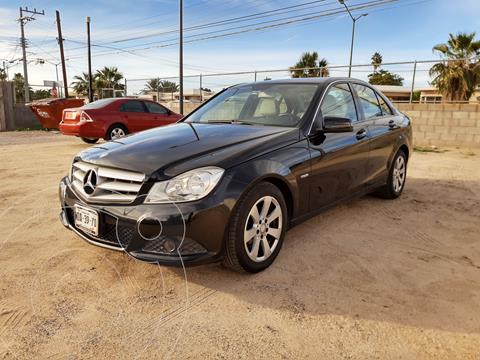 Mercedes Clase C 180 Aut usado (2012) color Negro precio $185,000