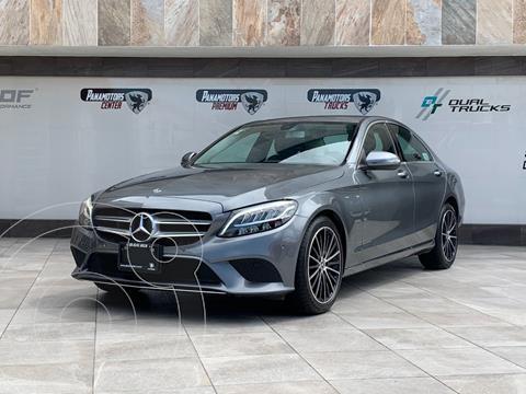 Mercedes Clase C 200 Aut usado (2020) color Gris precio $680,000