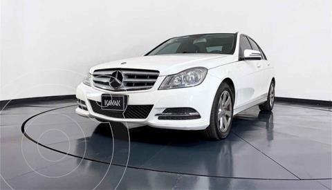 Mercedes Clase C 180 CGI Aut usado (2014) color Blanco precio $252,999