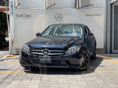 Mercedes Clase C 200 Sport Aut usado (2020) color Negro precio $695,000