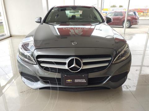Mercedes Clase C 180 Aut usado (2018) color Gris precio $355,000