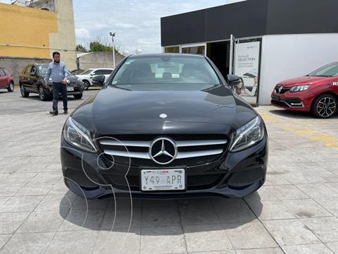 Mercedes Clase C 4 pts. C200 CGI Exclusive, 2.0T, TA usado (2018) color Negro precio $410,000