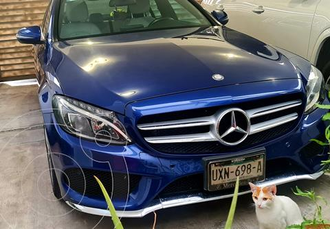 Mercedes Clase C 250 CGI Sport Aut usado (2017) color Azul precio $440,000