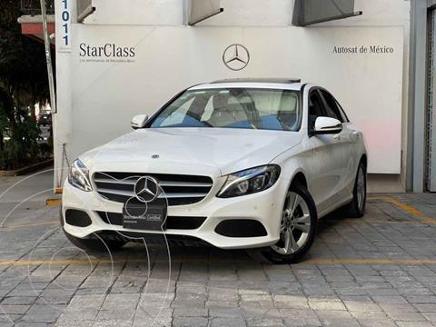 Mercedes Clase C 200 CGI Exclusive Aut usado (2018) color Blanco precio $475,000