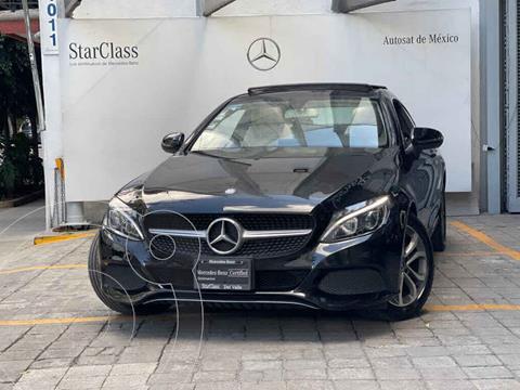 Mercedes Clase C 180 Coupe Aut  usado (2017) color Negro precio $480,000