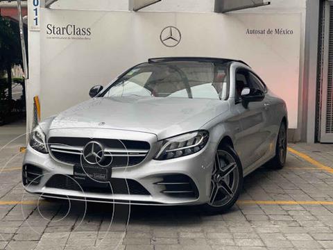 Mercedes Clase C C 43 AMG Coupe Aut usado (2019) color Gris precio $1,030,000