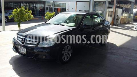 Mercedes Clase C 180 CGI usado (2012) color Negro precio $175,000