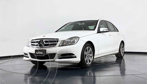 Mercedes Clase C 180 CGI Aut usado (2013) color Blanco precio $217,999