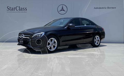 Mercedes Clase C 200 CGI Exclusive Aut usado (2018) color Negro precio $499,900